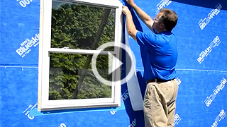 How to detail a window after Blueskin® VP100 installation